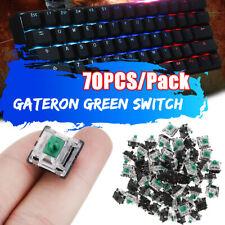 3Pin Gateron Green Switch Replacement 70PCS for Mechanical Gaming Keyboard