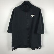 Nike Women's Sportswear AV15 Cape Sport Jacket Black Size M 829410-010