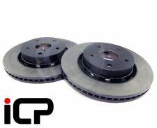 XT etc 242mm 2 x disc set Front brake discs genuine Subaru L-Series 1.6//1.8