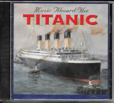 Music Aboard the TITANIC Boat Audio CD Theater Background Souvenir Gift Shop