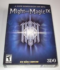 Might and Magic 9 - english *NEU* USVersion mit Box und Karte