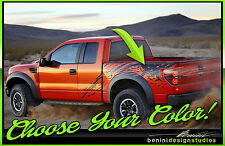 Ford F-150 Raptor Style Vinyl Decal Graphics 2010 2011 2012 2013 2014 2015 2016