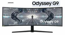 "(In Stock) Samsung Odyssey G9 Ultrawide C49G95T 49"" 240Hz Curved Gaming Monitor"