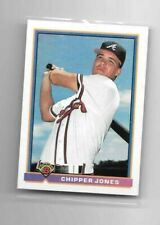 1991 Bowman Baseball #569 Atlanta Braves Chipper Jones Rookie Card