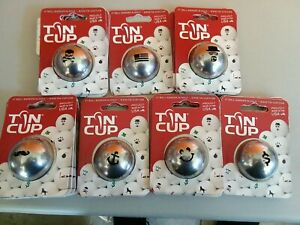 Tin Cup Golf Ball Marker Groovy Stache Nassau  & more MADE IN THE USA!