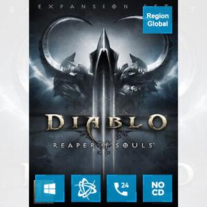 Diablo 3 III Reaper of Souls DLC for PC Game Battle Key Region Free