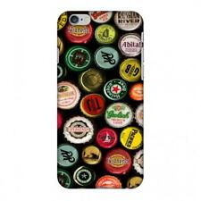 AMZER Snap On Case Beer Caps Yellow HARD Plastic Protector Phone Case