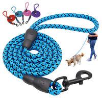 150 cm Correa perro Correa de nailon para perros pequeño Medio Nylon Cuerda Azul