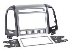 Radioeinbauset Doppel DIN Blende Adapter Hyundai Santa Fe ab 2006