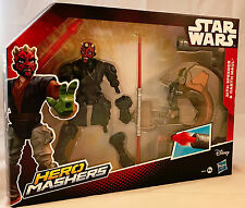 Star wars hero mashers-darth maul figure & sith semoir