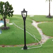 20 Model train Railway garden road street Lamppost Single Head HO TT 6cm 6v