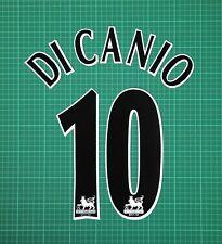 DI CANIO #10 1997-2006 Player Size Premier League Black Nameset West Ham United
