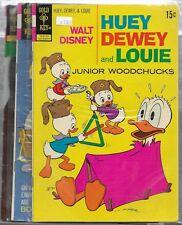 3 Gold Key comics Huey dewey and Louie 10,15,16 VGF OR BETTER