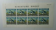 1964 New Zealand SC #B68a Korora  Bird MH Mini sheet