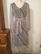 Classic Striped Midi Dress 10