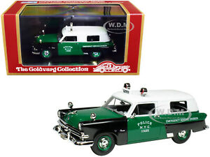 """1953 FORD COURIER """"POLICE N.Y.C."""" 1/43 MODEL CAR GOLDVARG COLLECTION GC-NYPD-002"""