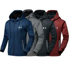 Men's Under Armour Autumn Winter Hoodie Hooded Sweatshirt Coat Jacket Outwear 06