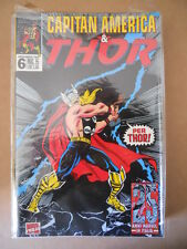 CAPITAN AMERICA & THOR n°6 1995 Marvel Italia  [G696]