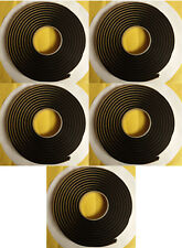 "QTY 5 Butyl Tape 3M 1/4""x15ft Great for Marine Boats Pontoon Raft Weatherproof"