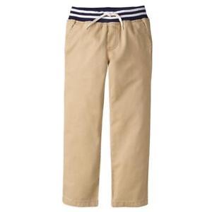 NWT Gymboree Boys Pull on Pants Pants Mighty Knee Khakis many sizes