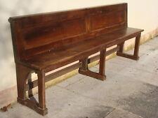 Antica panca panchina in legno massello