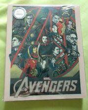 Avengers x Mondo Blufans exclusive Blu-ray Steelbook, Color slip,  New/Mint