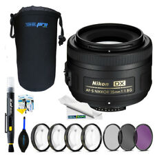 Nikon AF-S DX NIKKOR 35mm f/1.8G Lens + Expo Advanced Kit