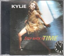 Kylie Minogue  CD-SINGLE  STEB BACK IN TIME  (c) 1990 PWL