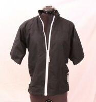 Sunice NEW X20ct Full-Zip Black Short Sleeve Wind Golf Jacket Wms Small $120