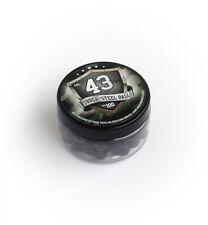 50x Cal .68 rubberball REBALL Paintball duro GOMMA ACCIAIO CALIBRO Reusable Defense