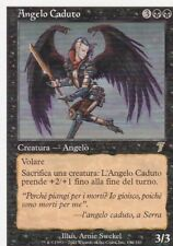 MAGIC MTG - ANGELO CADUTO - ORO - RARA - ITALIANO - BORDO BIANCO