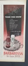 1940 Continental beer can men fishing boat Walter Richards art 2 page ad