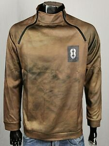 COOLER VINTAGE HERREN PULLOVER L EDLE HOODIE SOMMER JEANS SWEATER 8 BALL ARMY