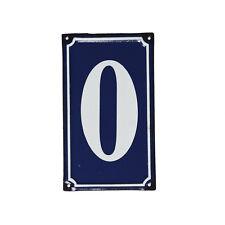 dotcomgiftshop 0 FRENCH BLUE METAL DOOR SIGN