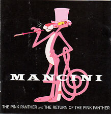 The Pink Panther-1964/The Return of The Pink Panther-2 Soundtracks-25 Track-CD