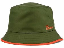 New ADIDAS ORIGINALS Brew Bucket Hat men Fishing Hiking Olive Green Orange