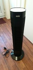 """ANSIO 1004 Portable 30"""" Oscilating Tower Fan with Remote Control - Black"""