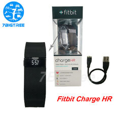 Fitbit Charge Hr Activity Fitness Sleep Tracker Wristband Black Band Heart Rate