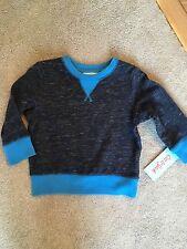 NWT Cat & Jack Heather Blue Sweatshirt 12M