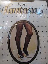 """Collezione FIORE by FRANCO BOMBANA """"FANTASIA"""" - collant - marrone TG 1"""