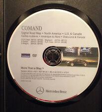 2014 UPDATE 07 08 MERCEDES CLS CLS350 CLS500 CLS550 CLS63 NAVIGATION CD DISC DVD