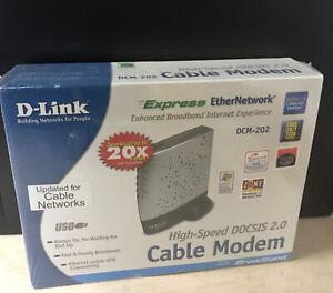 D-Link DCM-202 Broadband Modem / Brand New in Sealed Packaging