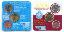 San Marino 2006 - (BU) mini kit de 3 pièces en euros 5c, 50c et 1 euro * RARE *