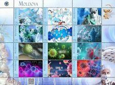Moldova 2020, Medicine, Global Virus-19 Pandemic, sheet of 12v