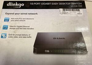 D-Link GO-SW-16G 16-Port Gigabit Easy Desktop Switch