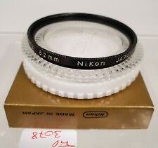 Original Nikon L37c UV Objektiv Filter Lens E52 52 52mm Japan AD3078