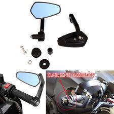 Motorcycle 7/8'' Handle Bar End Mirrors For Kawasaki Ninja ZX-6R Ninja 300 250R