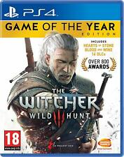 The Witcher 3 PS4 Game of the Year Edition Game for PlayStation 4 Hearts Blood