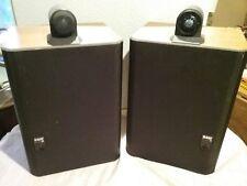 B&W 805 speakers