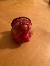 vintage Small Turkey Candle C9